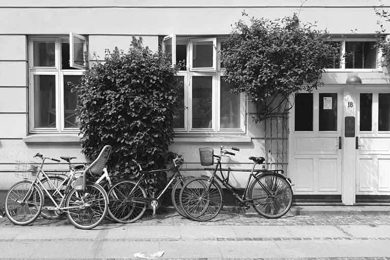 Cykler på Vesterbro